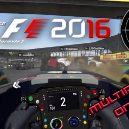 F12016 -A tipical multiplayer race @Interlagos