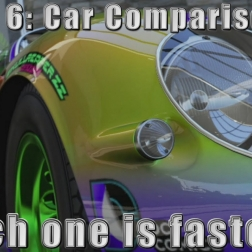 Forza 6 Car Comparison: Wich one is faster?