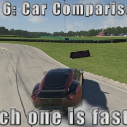 Forza 6 Car Comparison: Which one is faster?