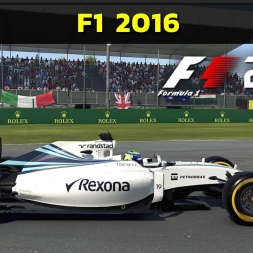 F1 2016 PC Gameplay - First look (PT-BR)