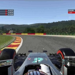 F1 2016 Circuit of Spa-Francorchamps