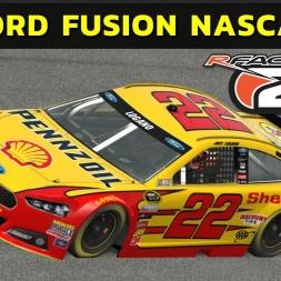 rFactor 2 - Ford Fusion Nascar at Alabama Speedway (PT-BR)