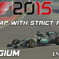 F1 2015 | Spa - Belgium | Hotlap with strict rules | 1.45,686