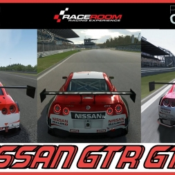 ★ Assetto Corsa VS RaceRoom VS Project CARS  - Nissan GTR GT3 at Nürburgring GP