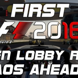 F1 2016 | first open lobby race! | chaos ahead???