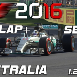 F1 2016 | Setup + Hotlap | Australia | 1.24,824 [PC]