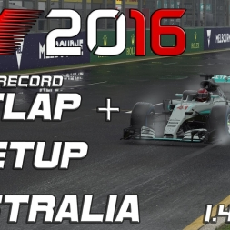 F1 2016 | Setup + Hotlap | Australia | 1.40,072 (Worldrecord)[PC]