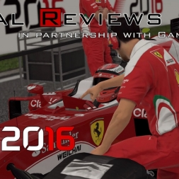 F1 2016 (PC PS4 XBOX) - Total Reviews