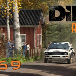 DiRT Rally Gameplay: Audi Quattro Group B Championship (Finland Part 2) - Episode 69