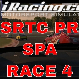 iRacing BSRTC Pro at Spa Race 4
