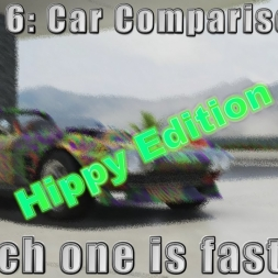 Forza 6 Car Comparison#4: Which one is faster?