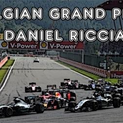 F1 2016 - Belgian Grand Prix - 50% - Daniel Ricciardo