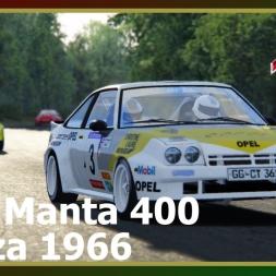 Assetto Corsa - Opel Manta 400 - Monza 1966
