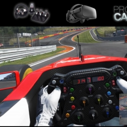 Project Cars VR * Formula A * Spa-Francorchamps * Oculus Rift