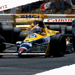 rFactor2 F1 1988 by Carrera4 Nigel Mansell Onboard Lap in Estoril