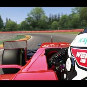 Assetto Corsa - Ferrari SF15-T @ Spa