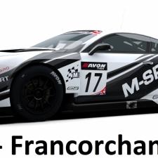 RaceRoom Setups - GTR3 - Bentley - Spa Francorchamps