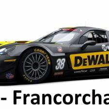 RaceRoom Setups - GTR3 Chevrolet Corvette - Spa Francorchamps