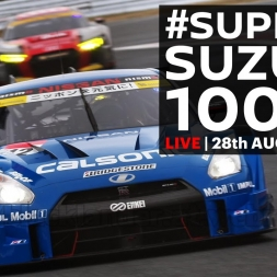 FULL RACE, 2016 Super GT Rd. 6 - Suzuka - 1000k - LIVE, ENGLISH COMMENTARY