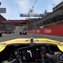 F1 2016 Austrian Grand Prix Race PC Gameplay