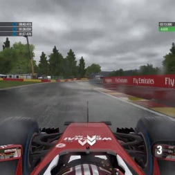 F1 2016 Circuit of Spa-Francorchamps Wet