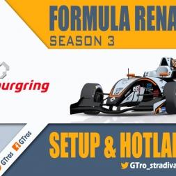 iRacing Formula Renault 2.0 @ Nurburgring GP | Setup & Hotlap 1'55.725 | Season 3 - 2016