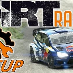 DiRT Rally POS 101 - VW Polo Setup - Wales - Wheel | Controller [4K] - Mods