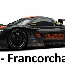 RaceRoom Setups - P2 - Chevrolet Corvette - Spa Francorchamps
