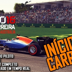 F1 2016 | Onboard commented gameplay | Career mode part 1