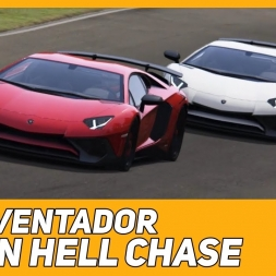 The Aventador Green Hell Chase