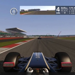 Assetto Corsa Online Race Lotus Exos Silverstone