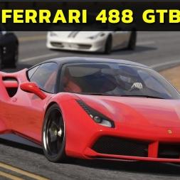 Assetto Corsa - Ferrari 488 GTB at Black Cat County (PT-BR)