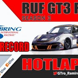iRacing RUF GT3 Fixed @ Sebring | World Record Hotlap 2'00.911 | Season 3 - 2016