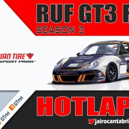 iRacing RUF GT3 Fixed @ Mosport | Hotlap 1'17.149 | Season 3 - 2016