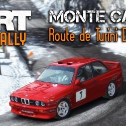 """DiRT Rally   BMW M3 Evo Rally @ Monte Carlo """"Route de Turini Descente"""""""
