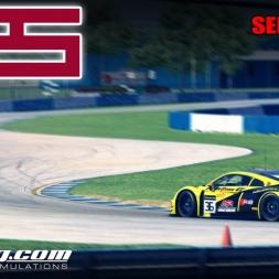 iRacing   #MES Race 5 @ Sebring - Audi LMS   Stint 1-2