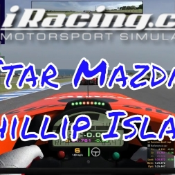 iRacing Star Mazda at Phillip Island - Fun race for the win