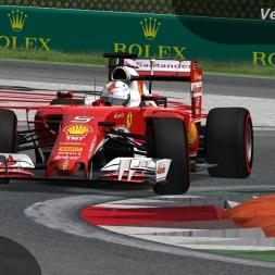 rFactor F1 2016 Vettel Onboard Monza