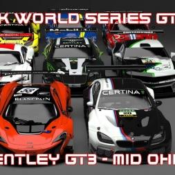 rFactor2 - Simtek World Series GT3 Mod / Bentley GT3 - Mid Ohio