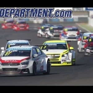 RaceRoom Broadcast | RaceDepartment Event WTCC 2015 @ Oschersleben