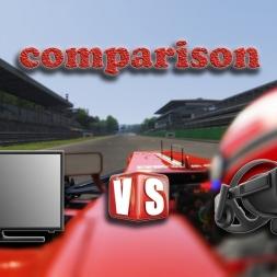 Assetto Corsa * non VR vs. VR comparison * Oculus Rift