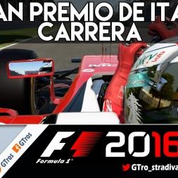 F1 2016 | CARRERA GRAN PREMIO DE ITALIA | Gameplay español