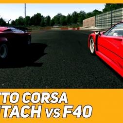 Countach vs F40