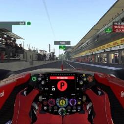 F1 Monza 2016 vRace   Did Raikonen's alternative pit stop strategy pay off?