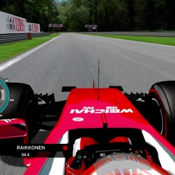 rFactor F1 2016 - Kimi Raikkonen Onboard in Monza