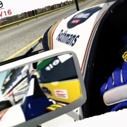 rFactor2 Ayrton Senna Williams FW16 1994 Real Onboard Cam at Imola