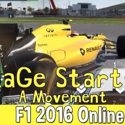 F1 2016 Online - RaGe starts a movement