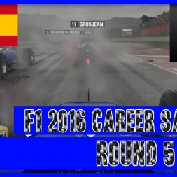 F1 2016 Career Mode Sauber - Round 5 Spain The New Rain Master?