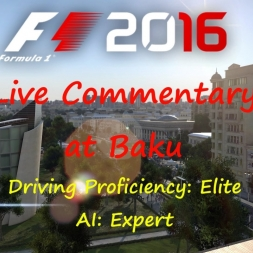 F1 2016: Live Commentary at Baku