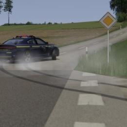 Assetto Corsa | Dodge Charger Police | Aspertsham Public Roads